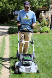 electric mower for Dothan lawn maintenance
